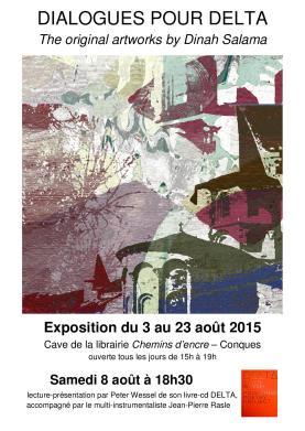 Affiche Dialogues pour Delta, horaire corr-page-001